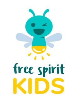 Logo - Free Spirit Kids - Sabrina Bechler